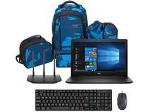 Notebook Dell i15-3583-FS1P Intel Core i5 - 8GB + Roteador + Kit Mochila + Mouse + Teclado
