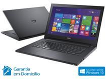 Notebook Dell Inspiron 14 I14-3443-B40 Intel Core - i5 8GB 1TB Windows 8.1 LED 14 HDMI Placa Vídeo 2GB