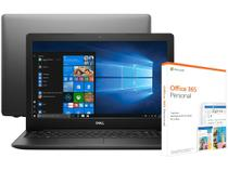 Notebook Dell Inspiron 15 3000 i15-3583-A20P - Intel Core i5 + Pacote Microsoft Office 365