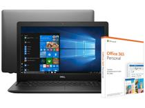 Notebook Dell Inspiron 15 3000 i15-3583-A30P - Intel Core i7 + Pacote Microsoft Office 365