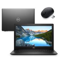 "Notebook Dell Inspiron 3583-MS100PM 8ª Geração Intel Core i7 8GB 256GB SSD Placa AMD 15.6"" Windows 10 Mouse MS3320W Pret -"