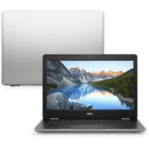 "Notebook Dell Inspiron i14-3481-M20S Ci3 4GB 128GB SSD Tela LED HD 14"" Win10 McAfee Prata -"