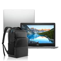 """Notebook Dell Inspiron i14-3481-M40SB 8ª Geração Intel Core i3 4GB 128GB SSD 14"""" Windows 10 Prata com Mochila -"""