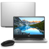 """Notebook Dell Inspiron i14-5480-M30M 8ª Geração Intel Core i7 8GB 256GB SSD Placa de Vídeo FHD 14"""" Windows 10 Prata Mouse WM326 McAfee -"""