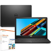 Notebook Dell Inspiron i15-3567-M15F 7ª Geração Intel Core i3 4GB 1TB 15.6