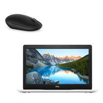Notebook Dell Inspiron i15-3583-M21M Core i5 4GB 1TB Windows 10 Branco 15.6 + Mouse Wireless WM326 -