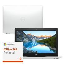 "Notebook Dell Inspiron i15-3583-M22F Core i5 8GB 2TB Placa de vídeo 15.6"" Windows 10 McAfee Branco Microsoft 365 -"