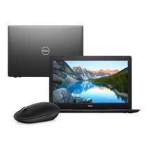 Notebook Dell Inspiron i15-3583-M30M Core i7 8GB 2TB Placa de vídeo Windows 10 Preto 15.6 + Mouse Wireless WM326 -