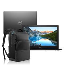Notebook Dell Inspiron i15-3583-M3XBP Core i5 8GB 1TB Windows 10 Preto 15.6 + Mochila Pro -