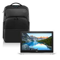 Notebook Dell Inspiron i15-3583-M40BP Core i7 8GB 2TB Placa de vídeo Windows 10 Branco 15.6 + Mochila Pro -