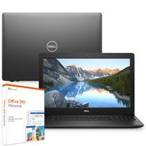 "Notebook Dell Inspiron i15-3583-M4XF 8ª Ger. Intel Core i5 8GB 256GB SSD 15.6"" Windows 10 Office 365 Preto McAfee -"