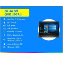 "Notebook Dell Inspiron I15-3584-D30P 8ª Intel Core i5 8GB 1TB 15,6"" Preto -"