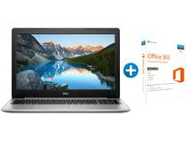 "Notebook Dell Inspiron i15-5570-B40C Intel Core i7 - 8GB 2TB LED 15,6"" + Microsoft Office 365 Personal"