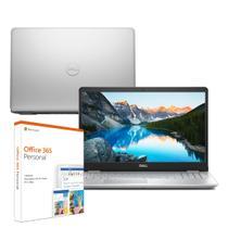 Notebook Dell Inspiron i15-5584-M20F 8ª Ger. Intel Core i5 8GB 1TB Placa de Vídeo LED HD 15.6 Win10 Prata Microsoft 365 -