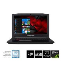 "Notebook Gamer ACER Helios 300 - G3-572-75L9 I7-7700HQ 16GB 2TB Nvidia 1060 GTX 6GB 15,6"" W10 Home 6 -"