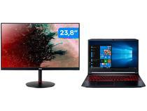 Notebook Gamer Acer Nitro 5 Intel Core i5 16GB - 512GB SSD NVIDIA GTX1650ti 4GB + Monitor Gamer