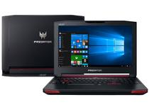 "Notebook Gamer Acer Predator Intel Core i7 - 16GB 1TB LED 17,3"" GTX 980M 4GB Windows 10"