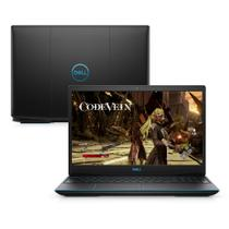 "Notebook Gamer Dell G3-3590-M30P 9ª Geração Intel Core i7 8GB 1TB+128GB SSD Placa Vídeo NVIDIA GTX 1660Ti FHD 15.6"" Wind -"