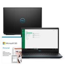 "Notebook Gamer Dell G3-3590-M63P 15.6"" 9ª G Intel Core i7 8GB 512GB SSD Placa Vídeo NVIDIA 1660Ti Microsoft Office 365 -"