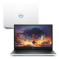 "Notebook Gamer Dell G3-3590-U60B 9ª Geração Intel Core i7 8GB 512GB SSD Placa Vídeo NVIDIA 1660Ti 15.6"" Linux Branco -"