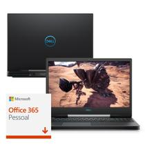 "Notebook Gamer Dell G5-5590-A33P 9ª Geração Intel Core i7 16GB 1TB+256GB SSD Placa Vídeo NVIDIA GTX 1660Ti FHD 15.6"" Office 365 com Teclado US int RGB -"