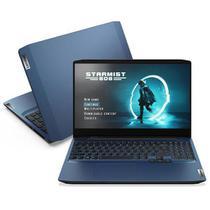 "Notebook Gamer Lenovo, Intel CoreT i5, 8GB, 256GB SSD, Tela de 15,6"", Chameleon Blue, ideaPad Gaming 3i - 82CG0002BR -"