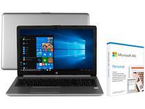 "Notebook HP 250 G7 Intel Core i5 8GB 256GB SSD - 15,6"" LED + Microsoft 365 Personal 1TB OneDrive"