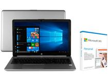 "Notebook HP 250 G7 Intel Core i5 8GB 256GB SSD - 15,6"" + Microsoft 365 Personal 1TB OneDrive"