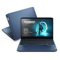 """Notebook ideapad Gaming 3i i7-10750H 16GB 512GB SSD GTX 1650 4GB 15.6"""" FHD WVA W10 82CG0004BR - Lenovo"""