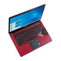 Notebook Legacy Cloud 14 Polegadas 2G 32G W10 Vermelho PC133 - Multilaser