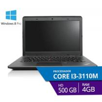 Notebook Lenovo 14 E431 - I3  4GB HD 500GB Windows 8 Pro