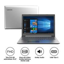 Notebook Lenovo Ideapad 330 81FE0000BR Intel Core i7 8GB 1TB 15.6 Placa de Vídeo 2GB Win10 Prat
