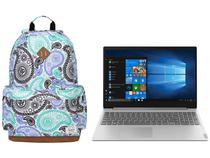 "Notebook Lenovo Ideapad S145 81V70008BR  - AMD Ryzen 5-3500U 8GB 256GB SSD 15,6"" + Mochila"