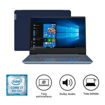 "Notebook Lenovo Idepad 330S 81JM0003BR, I7, 8GB, 1TB, 14"", Windows 10 - Azul -"