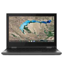 """Notebook Lenovo, Intel Celeron N4020, 4GB, 32GB, Tela de 11,6"""", Preto, Chromebook 300e - 81MB0028BR -"""