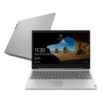 Notebook Lenovo Ultrafino ideapad S145 Dual N4000 Mem 4GB HD SSD 128GB +HD 500GB Win 10 Super Rápido -