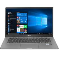 "Notebook LG Gram 14"" 14Z90N Intel Core I5 8GB SSD 256 GB M.2 Nvme Windows 10 Home Cinza Titanio -"