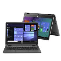 Notebook Multilaser 2 em 1 M11W Plus Intel Celeron 2GB 64GB 11.6 Pol. Touch Screen Full HD Windows 10 Cinza - PC112 -