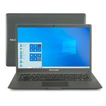 Notebook Multilaser Legacy Cloud, com Windows 10 Home, Processador Intel Quadcore Memoria 2GB 32GB  Tela 14,1 Pol. HD Cinza - PC130 -