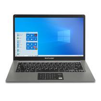 "Notebook Multilaser Legacy Cloud Intel Z8530 2GB RAM 32GB Windows 10 Home Tela 14"" HD Grafite PC131 -"