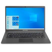 "Notebook Multilaser Legacy Cloud Intel Z8530 2GB RAM HD 32GB Windows 10 Home 14"" Cinza PC130 -"