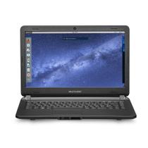 Notebook Multilaser Urban Intel Core i3 4GB 120GB SSD 14 Pol. Linux Preto - PC402