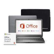 Notebook Multilaser Urban Intel Core i3 4GB 120GB SSD 14 Pol. Windows 10 + Case Microsoft + Office 2019 Perpétuo - PC405
