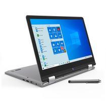 Notebook Positivo 2 em 1 Intel 2.4GHz 4GB 128GB SSD Tela 11.6 Windows 10 PRO -