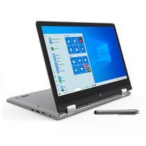 Notebook Positivo 2 em 1 Intel 2.4GHz 4GB DDR4 64GB SSD Tela 12 Full HD W10 -