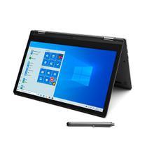 Notebook Positivo 2 em 1 Intel 2.4GHz 4GB RAM 128GB SSD Tela 12 Full HD - Cinza -