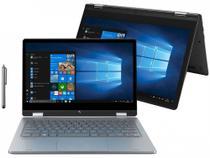 "Notebook Positivo Duo C464C Intel Celeron Dual - Core 4GB 64GB Touch Screen 11,6""Full HD Windows 10 -"
