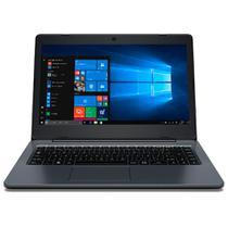 Notebook Positivo Master N1240, Intel Celeron, Ram 4GB, Flash 32GB, Tela 14'' - Windows 10 Pro -