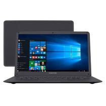 Notebook Positivo Motion Plus Q432A, Intel Atom Z8350 1.44GHz, 4GB, HD 32GB - Cinza Escuro -