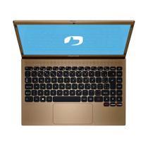 Notebook Positivo Motion Q464C 64gb 4Gb RAM Win10 - Dourado -